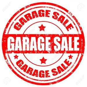 Garage Sale-Red